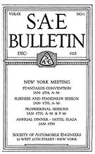 SAE Bulletin 1915-12-01 - December 01, 1915