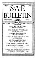SAE Bulletin 1916-12-01 - December 01, 1916