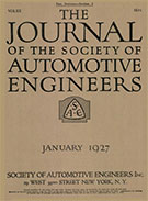 Journal of the S.A.E. 1927-01-01 - January 01, 1927