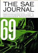 S.A.E. Journal 1969-02-01 - February 01, 1969