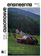 The S.A.E. Journal of Automotive Engineering 1972-02-01 - February 01, 1972