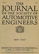 Journal of the S.A.E. 1927-05-01 - May 01, 1927