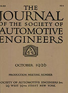 Journal of the S.A.E. 1926-10-01 - October 01, 1926
