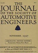 Journal of the S.A.E. 1927-11-01 - November 01, 1927
