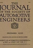 Journal of the S.A.E. 1926-12-01 - December 01, 1926