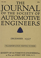 Journal of the S.A.E. 1927-12-01 - December 01, 1927