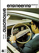 The S.A.E. Journal of Automotive Engineering 1971-12-01 - December 01, 1971