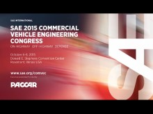 The Value of the SAE Commercial Vehicle Engineering Congress