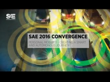 SAE 2016 Convergence®, Personal Mobility - Creating a Smart and Autonomous Journey