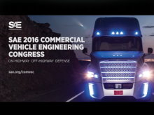 SAE 2016 Commercial Vehicle Engineering Congress