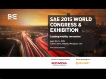SAE 2015 World Congress Trailer