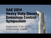 This highly-anticipated, biennial event will provide attendees with the latest in upcoming regulatory actions, state-of-the-art technical information and first-hand experiences relating to heavy duty diesel emission control strategies, engine and aftertreatment systems and integration and the future direction of the industry.